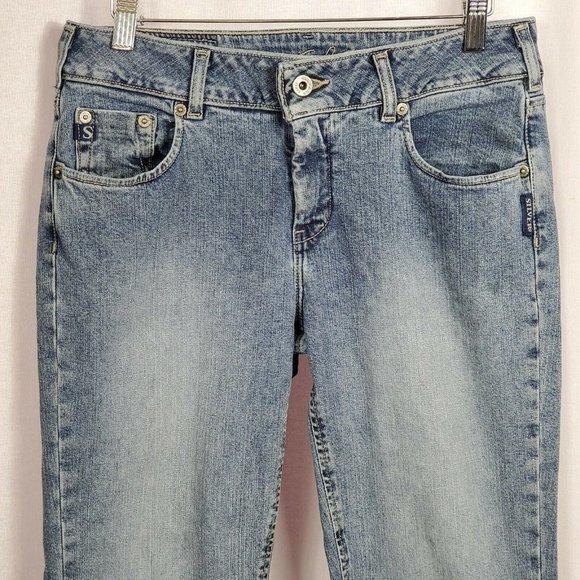 Silver Jeans Women's Bootcut Mid Rise Hemmed